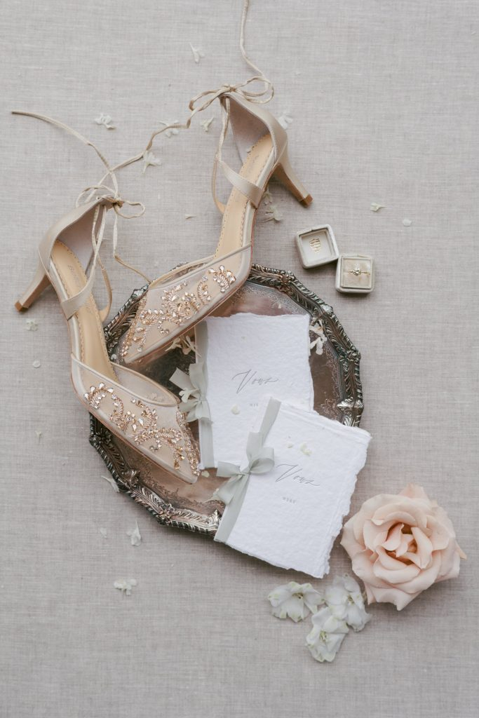 Day of wedding Items photographed by Catherine, wedding photographer and owner of Peony Park Photography